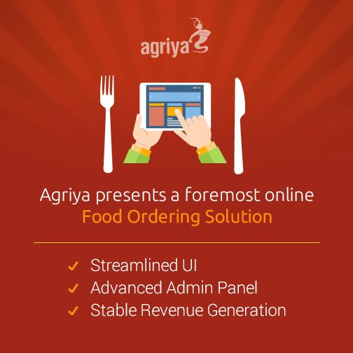 Launching Agriya's online food ordering solution, adequate for pioneering businesses to deploy a complete food delivery platform. With a multitude of built-in attributes integrated within, it delivers a simplified end-user experience, moreover, it rationalizes the admin-side functions as well. Employ this impeccable solution to make your business ready to take off.