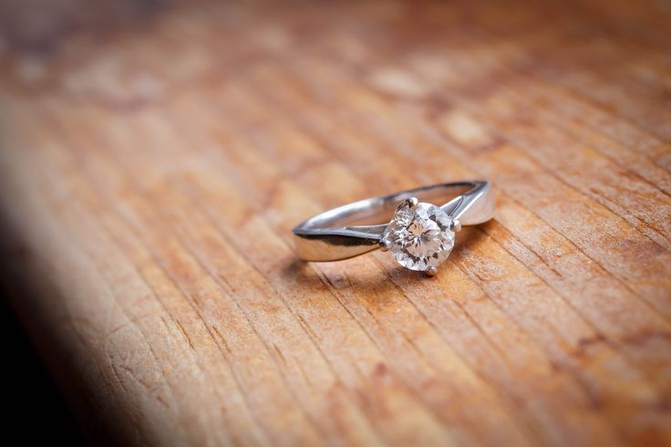 Diamond engagement ring photographed by Brady McCloskey Photography #engagementrings