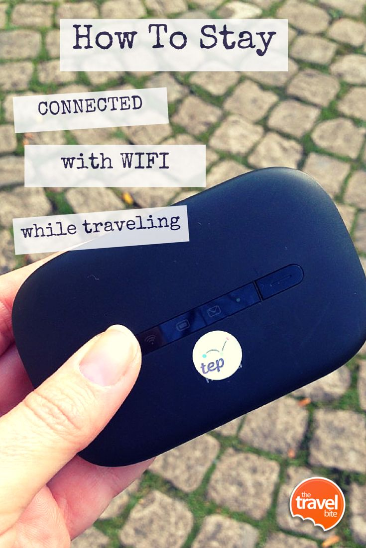 How to stay connected with wifi while traveling. From travel expert Rachelle Lucas of TheTravelBite.com. ~ http://thetravelbite.com