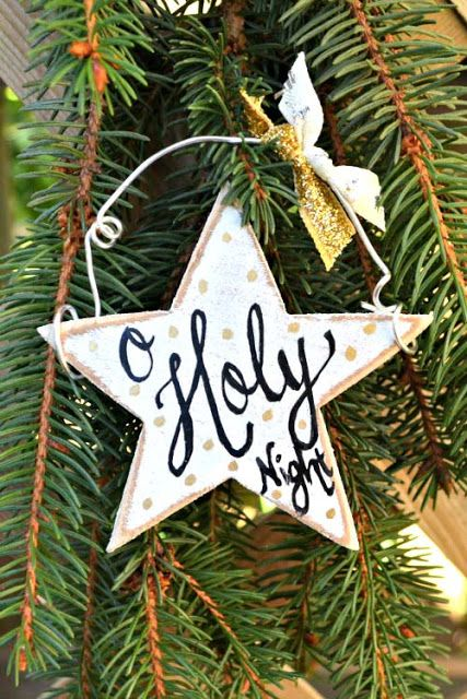 Wooden Letter Christmas Tree Decorations : Best wooden christmas ornaments ideas on