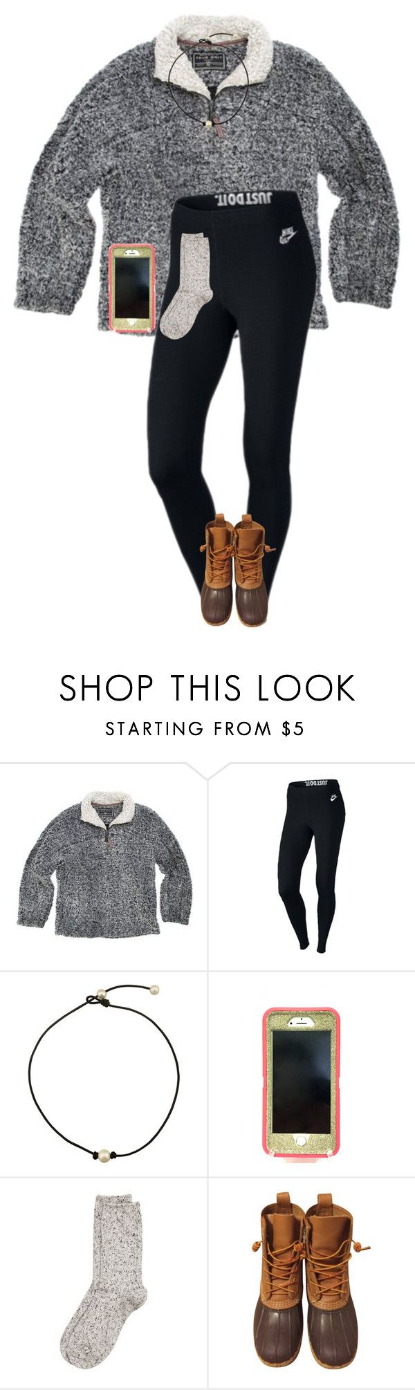 """""""Can someone please tell me what kind of jacket this is because I really want one. """" by one-of-those-nights ❤ liked on Polyvore featuring True Grit, NIKE, OtterBox, River Island and L.L.Bean"""