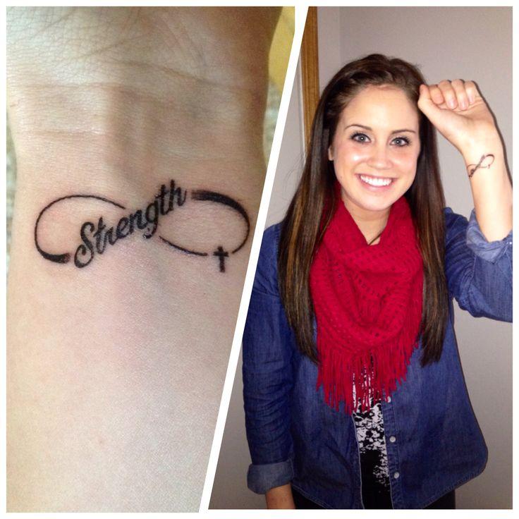 Best 25+ Strength Tattoo Designs Ideas On Pinterest