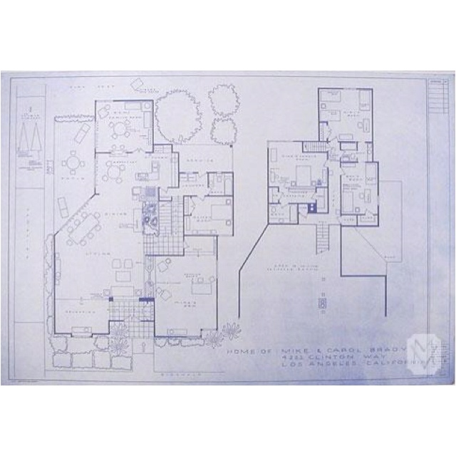 52 best brady images on pinterest scenic design yahoo for Brady bunch house blueprints