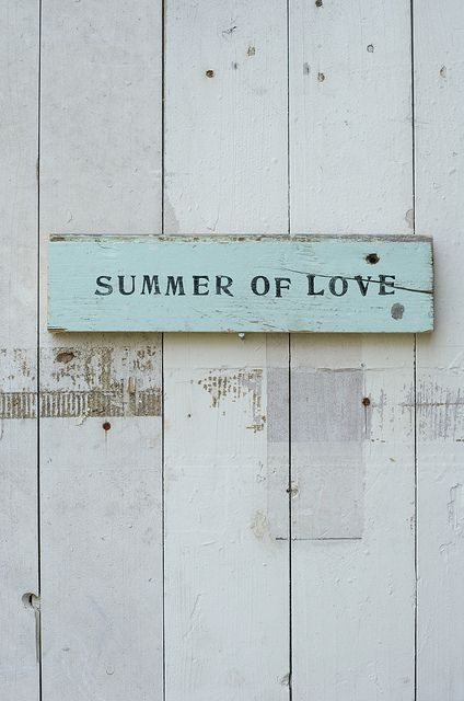 summer of love sign