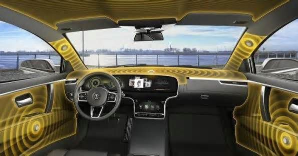 This new audio system turns your car's interior into one giant speaker German automotive parts supplier Continental has developed a new speaker-less audio system for cars it calls Ac2ated Sound. Continental says the new system will reduce the amount of weight traditionally taken up by car speakers by up to 90 percent, using ...