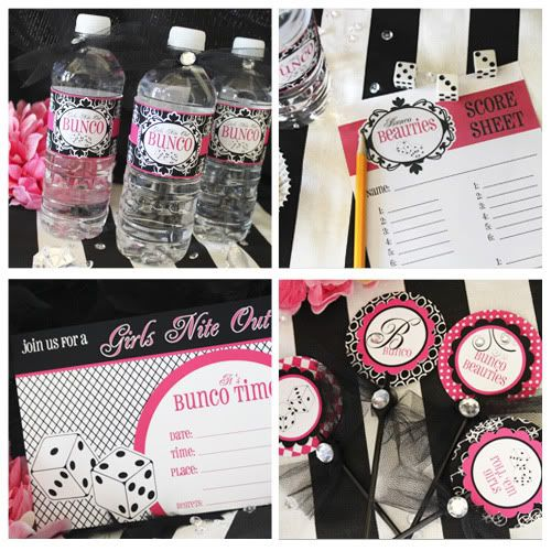 Free Bunco Printables - Looks fun - Don't know how to play...yet