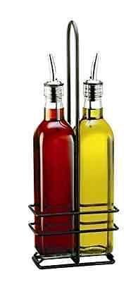 Oil and Vinegar Dispensers 54122: 16 Oz Olive Oil Bottle Set Vinegar Dispenser Container Pourer Sprayer Kitchen -> BUY IT NOW ONLY: $37.52 on eBay!