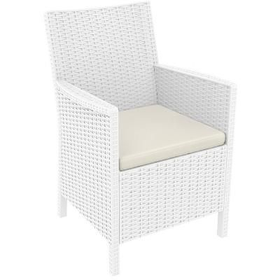 Shop for California Wickerlook Resin Patio Chair White ISP806 to match your style and budget at CozyDays. Enjoy free shipping on dining chairs all year round. 022372 8697443553433