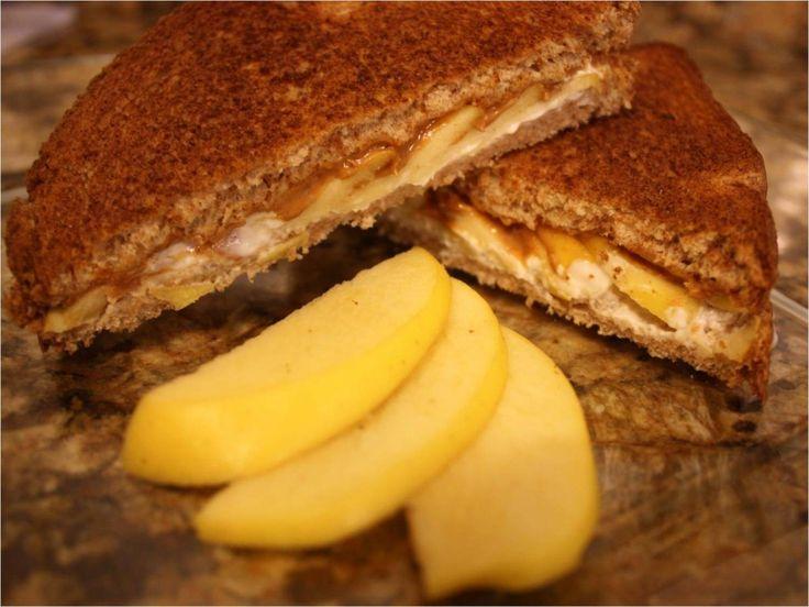 Sandwich de manzana :D