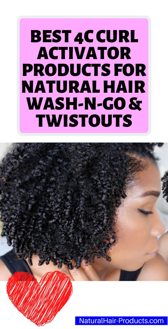 Best DIY Curl Activator for Natural Hair Type 4C Washn