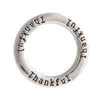 Silver ThankfulMake a statement of gratitude when you add the Silver Thankful Screen to your locket.