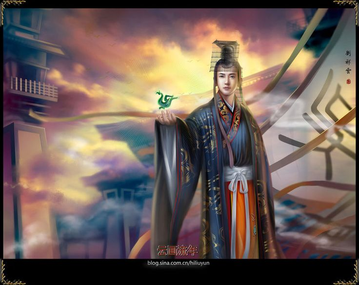 China - Han Dynasty emperors by hiliuyun.deviantart.com