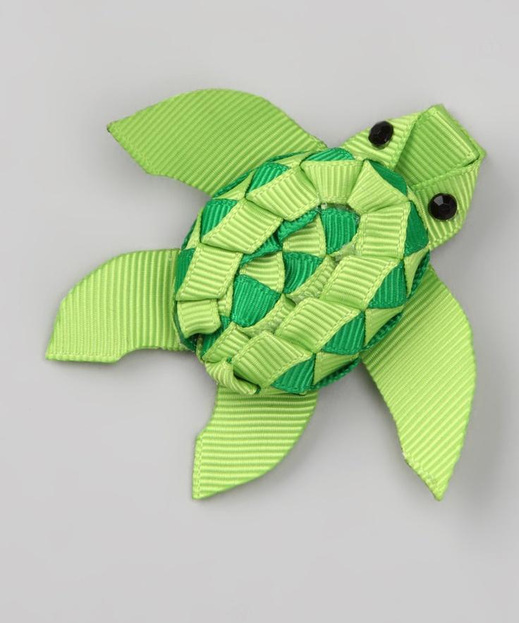 Green Turtle Clip