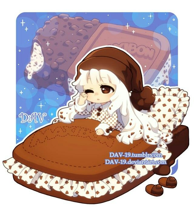 44 Best Anime Food Chibis Images On Pinterest