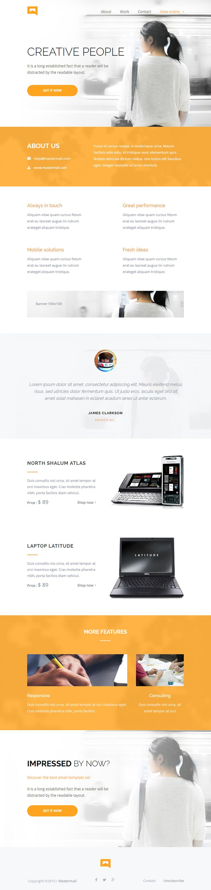 1000 ideas about email templates on pinterest premium wordpress themes landing pages and. Black Bedroom Furniture Sets. Home Design Ideas