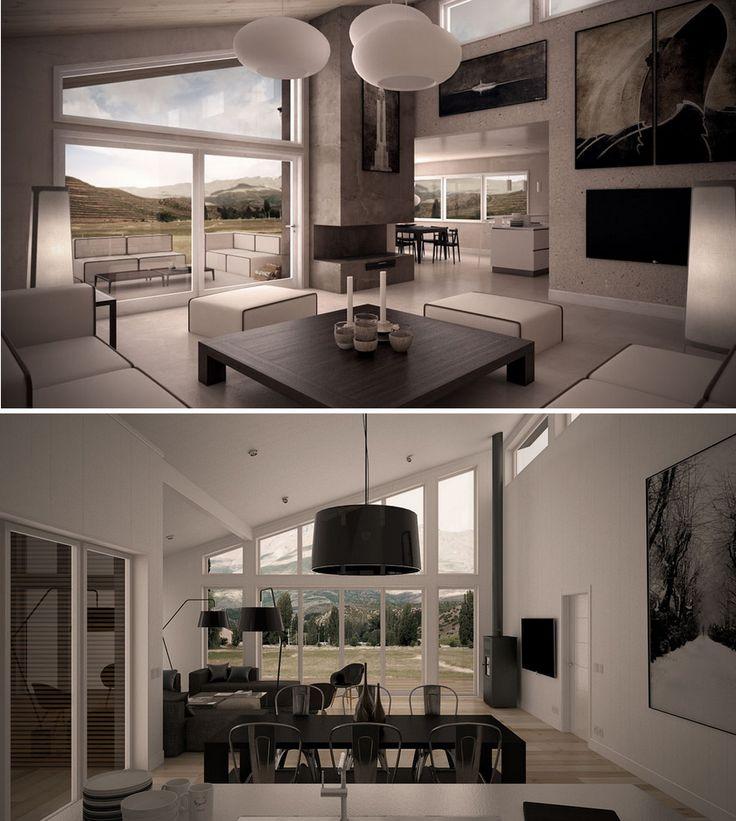 Modern interior designs arkitektur pinterest for Modern 1930s interior design