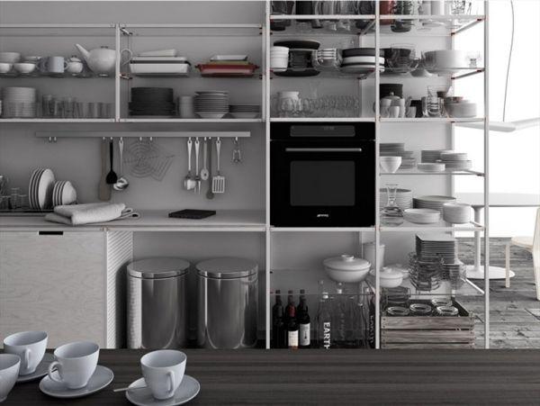 Schön Innovative Moderne Einbauküche Im Industrial Style Von Demode