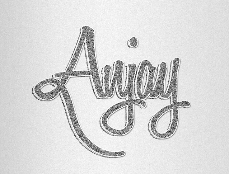 Lettering #Anjay