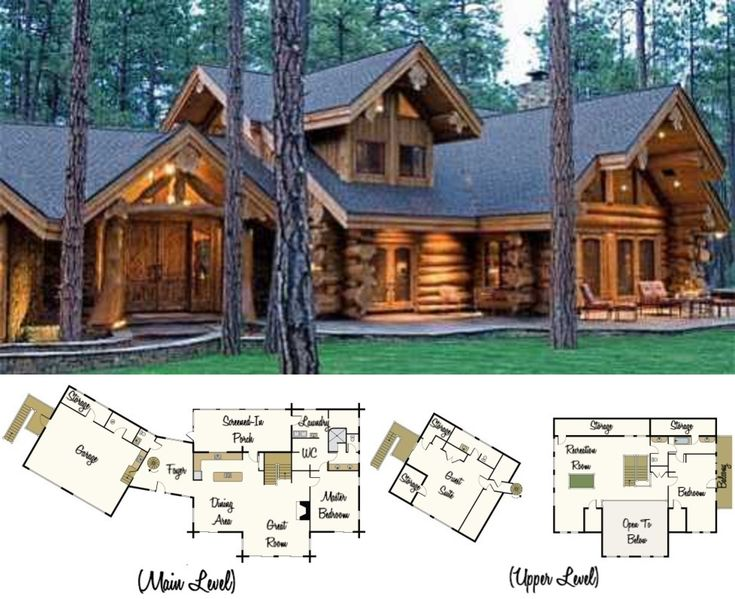 Superieur Beautifully Handcrafted Log Cabin Hidden Away In The White Mountains Of  Arizona. Built By Summit