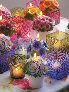 Beautiful Candles From France