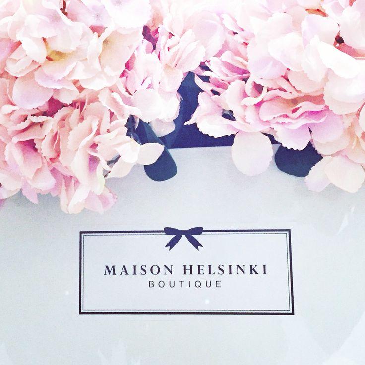 Maison Helsinki loves light pink