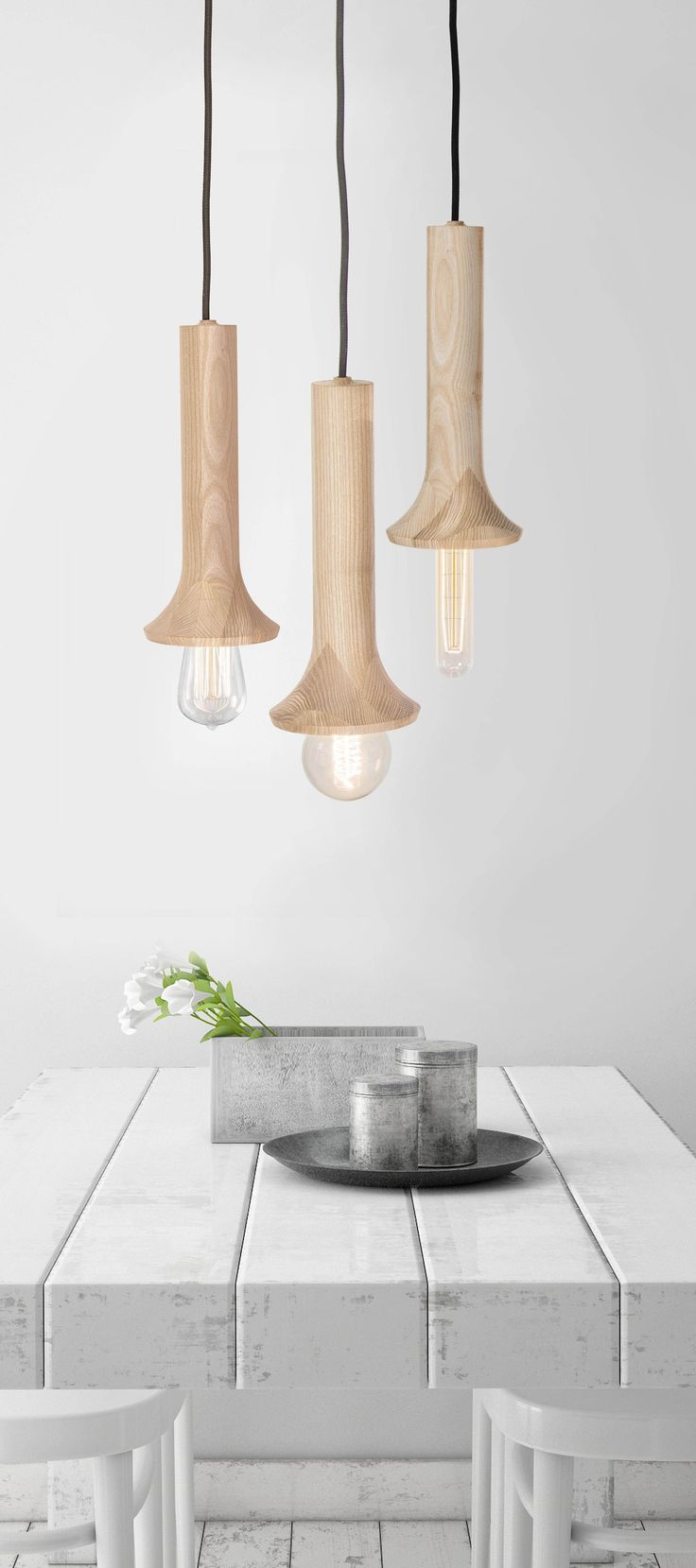 Netmasculine Lamps : ... & Light on Pinterest  Rocking chairs, Wooden lamp and Chairs