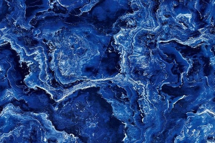 Natural Stone Has A Beauty And Elegance Unsurpassed By Man Made Creations Among The Most Unique And Rare St Blue Marble Wallpaper Blue Marble Marble Wallpaper