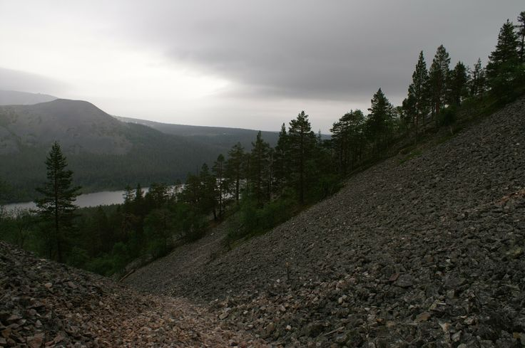 View on Ylläs Fell from Kesänki Fell