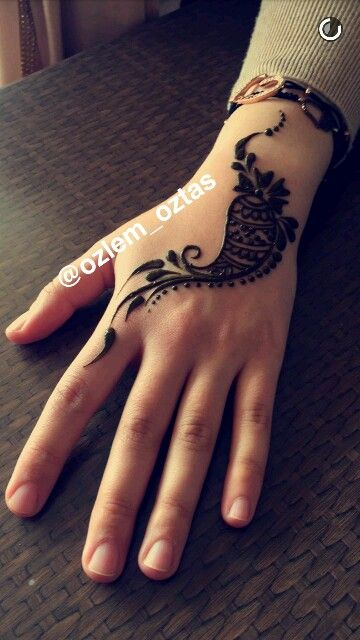 Hint kınası henna mehendi