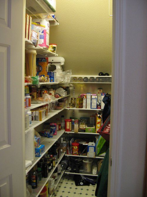 pantry under the stairs oh man, such a good idea, gotta put shelves in my closet for this, or just keep it as DVDs :)