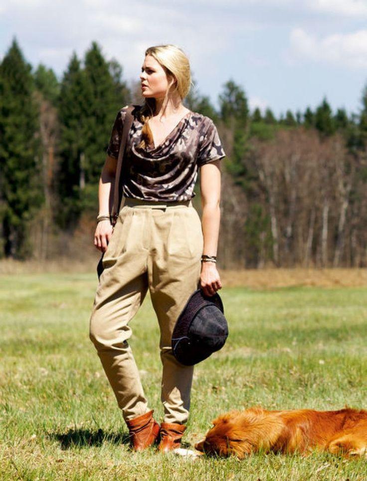 Блузка: Burda Мода для полных 2/ 2013/ 401 A / Burdastyle
