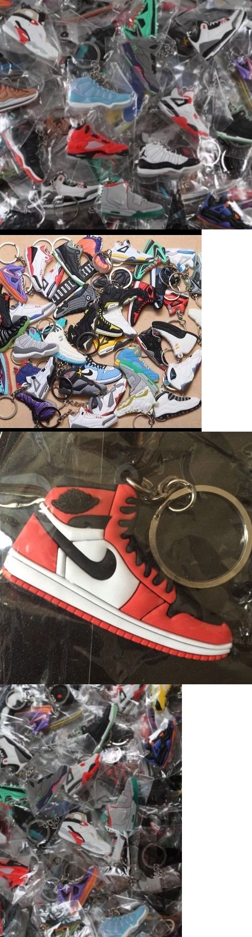 Key Chains Rings and Cases 52373: 500 Nike Air Jordan, Yeezy, Lebron, Misc. Shoe Keychains - Random Picks By Us! -> BUY IT NOW ONLY: $400 on eBay!
