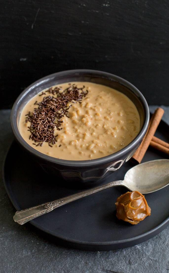 Arroz con leche y manjar #ad Deliciosa receta auspiciada por @minutericeUS #sk