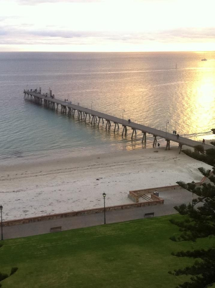 Glenelg Beach, Adelaide, Australia @Tara Harmon Harmon Harmon Hutton where we will be ❤️