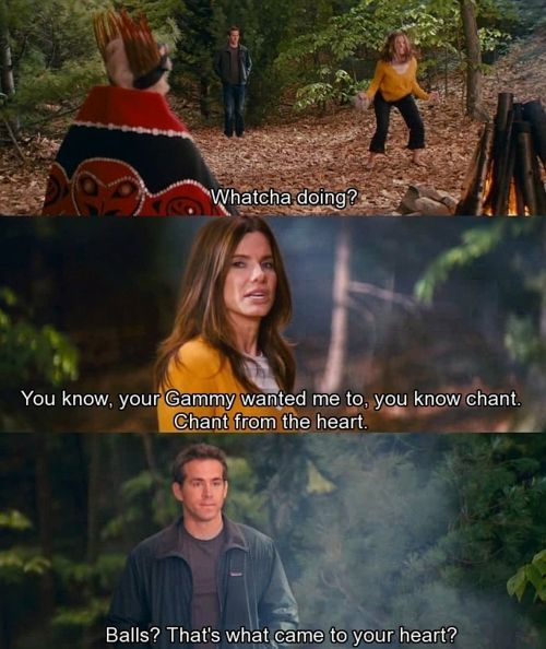 hahahahhaGreat Movie, Sandra Bullock, Ryan Reynolds, Funny Movie, Movie Scene, Betty White, Funny Stuff, So Funny, Favorite Movie