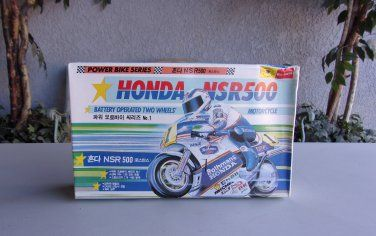 Honda NSR500 Rothmans Motorcycle Battery Operated Model Kit Vintage Rare $29.99 www.treasurefair.ecrater.com
