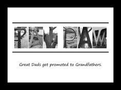 Unique PAW PAW GRANDPA gift or Grandfather gift by NameOnYourWall, $10.00