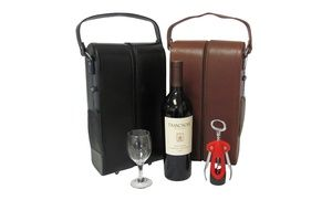 Groupon - Amerileather Wine and Golf Travel Cases. Multiple Styles Available from $ 49.99–$69.99. Free Returns. in Online Deal. Groupon deal price: $49.99