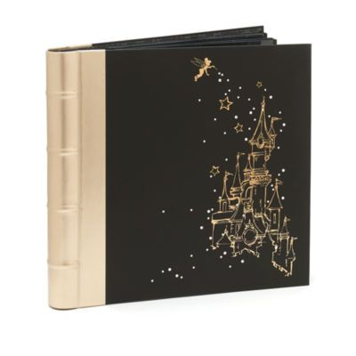 This enchanting photo album is ready to be filled with your magical Disneyland Paris memories! Part of the 25th Anniversary collection, it features iridescent cover artwork with sparkly gemstone detail.