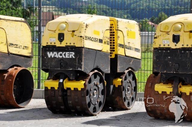 Wacker Grabenwalze Trench Roller Baumaschinen  Construction Equipment wacker  Neuson http://www.ito-germany.de/gebraucht/walzen/grabenwalze