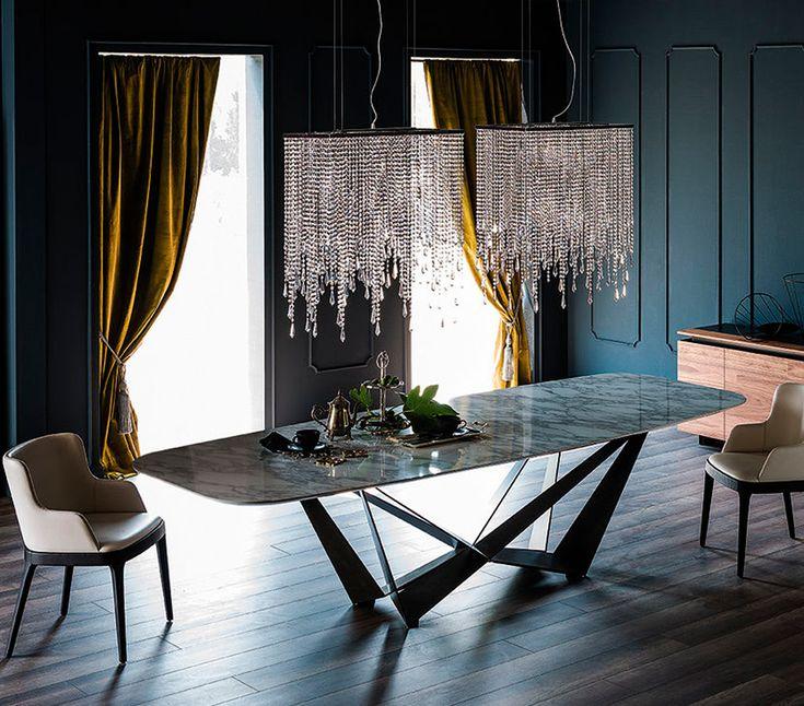 Keramik Dining Table, Modern Dining Room Furniture Miami