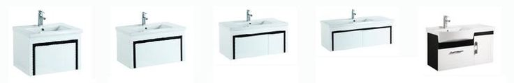 Check our website for the range of 600mm, 750mm, 900mm, 1200mm White with Black Trim Wall Hung Vanities with PVC Waterproof Cabinets. PVC Waterproof cabinets have many advantages over other material: Termite and waterproof Highly durable Low maintenance Damp proof from Bathrooms and Kitchens Builders Express Underwood, website www.bathroomsnkitchens.com.au