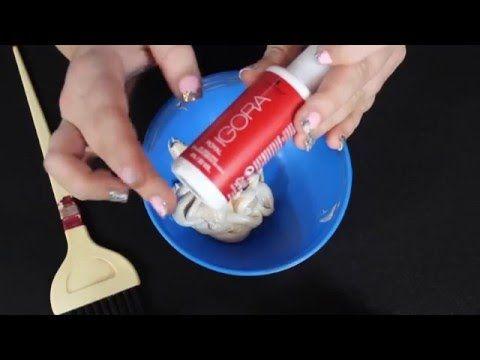 Como matizar de rubio a rubio ceniza / di adios al rubio pollo - YouTube