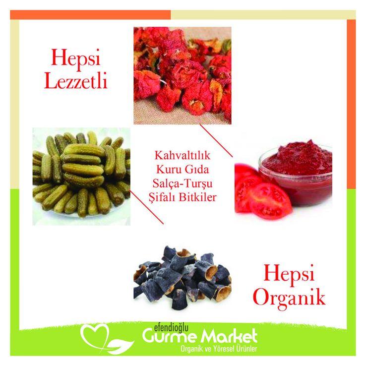 Yeni bir haftaya başlarken organik ve yöresel ürünlerle sofralarınızı lezzetlendirin! Üstelik Türkiye'nin her yerine kargo bedava. Hemen sipariş vermek için; www.gurmemarket.net