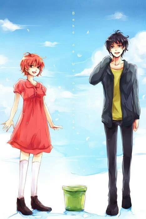 Ponyo and Sosuke all grown up | Studio Chibli | Pinterest ...