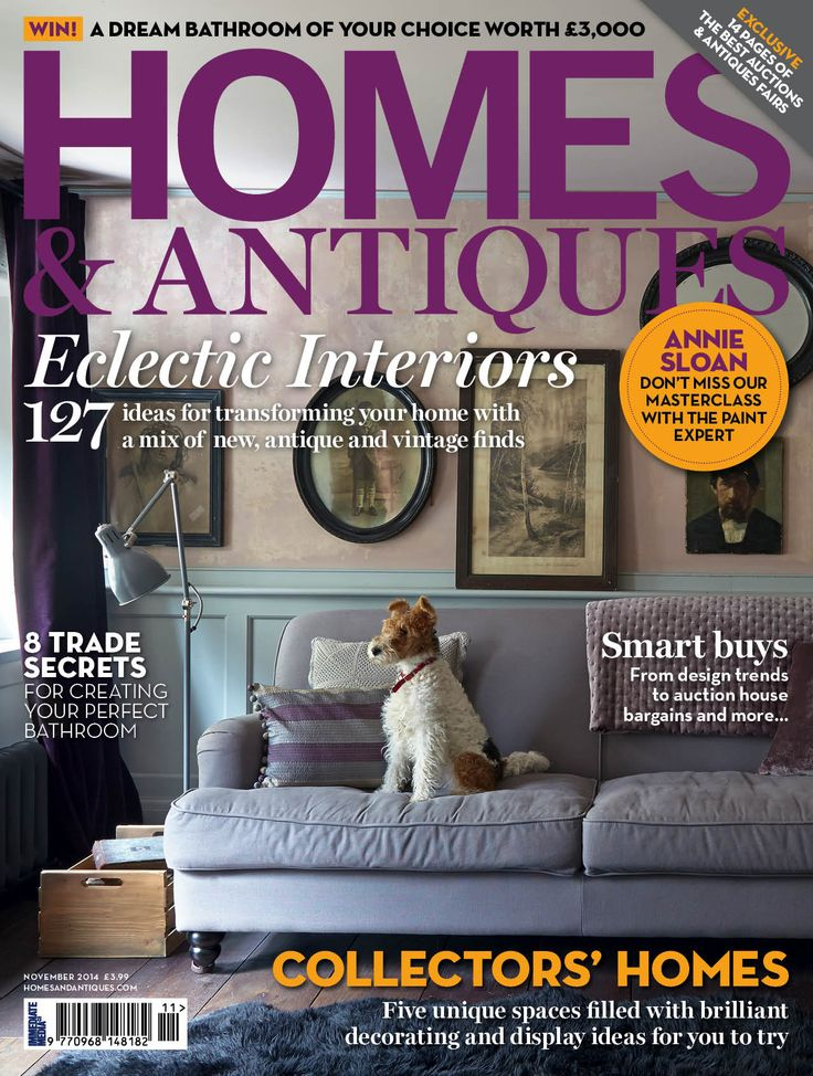 Eclectic Interiors   127 Ideas For Transforming Your Home With A Mix Of  New, Antique And Vintage Finds. Gefunden In: HOMES + ANTIQUES, Nr.