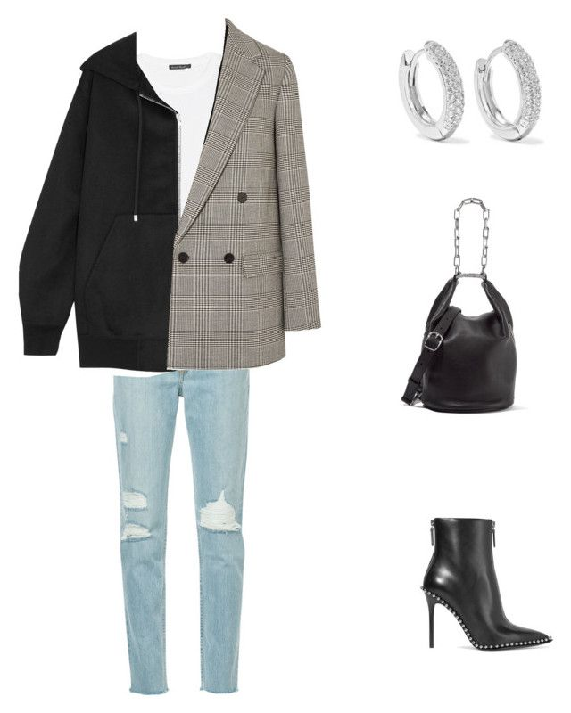 """C.A.S.U.A.L-"" by nicole-hernandez-vi ❤ liked on Polyvore featuring Alexander Wang, Acne Studios, rag & bone, STELLA McCARTNEY and Kenneth Jay Lane"