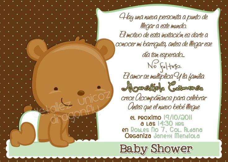 Invitaciones Para Baby Shower - $ 100.00 en MercadoLibre