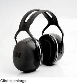 3M Peltor X5A HeadBand Ear Muffs (NRR 31)