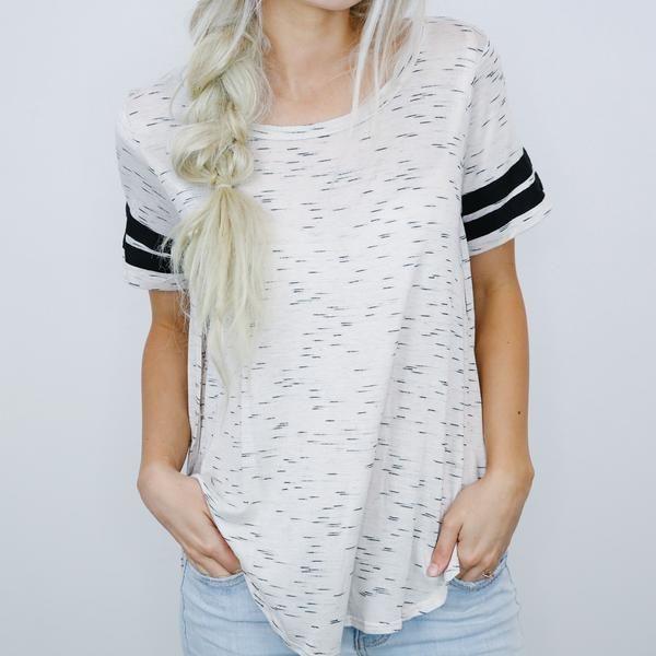 Eden Sporty Cream T-Shirt